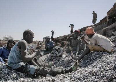 La carrière de Granit de Pissy, Ouagadougou